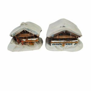 Anno Domini Einfirsthof in Winter Chalet in Winter Miniatures Figurine Germany